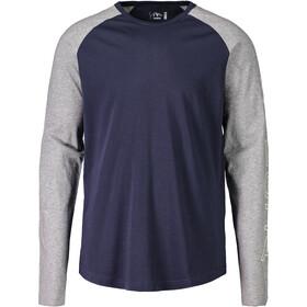 Maloja MoggeM. T-shirt à manches longues Homme, mountain lake multi